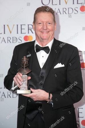 Editorial image of '2018 Laurence Olivier Awards' press room, London, UK - 08 Apr 2018