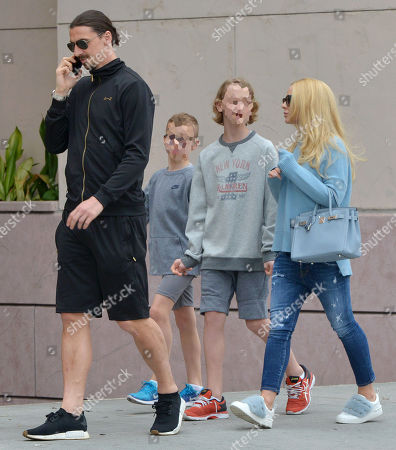 Editorial image of Zlatan Ibrahimovic out and about, Los Angeles, USA - 08 Apr 2018
