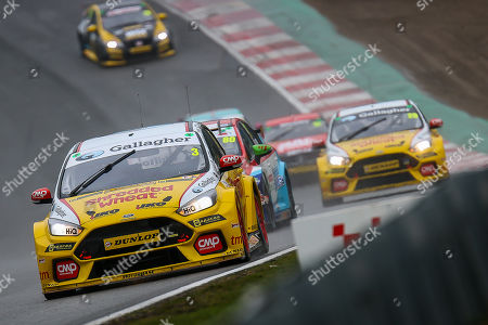 Tom Chilton - Team Shredded Wheat Racing with Gallagher - Ford Focus RS during the Dunlop MSA British Touring Car Championship at Brands Hatch, Fawkham. Picture by Aaron  Lupton