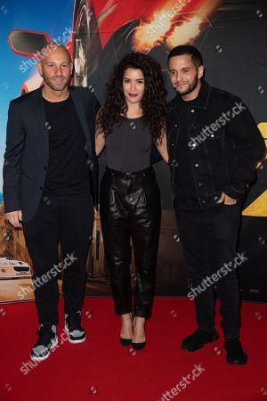Franck Gastambide, Sabrina Ouazani and Malik Bentalha