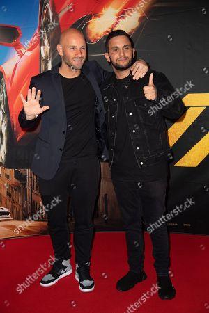 Franck Gastambide and Malik Bentalha