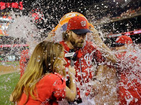 Editorial photo of Phillies Nationals Baseball, Washington, USA - 10 Aug 2013