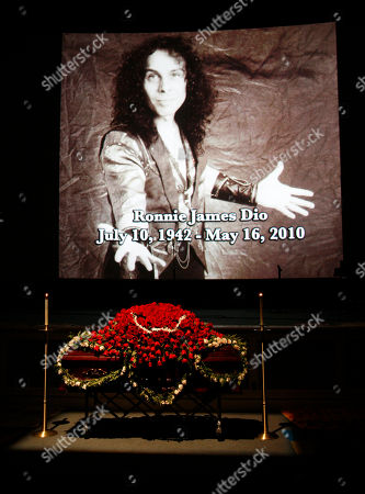 Editorial picture of Ronnie James Dio Memorial, Los Angeles, USA - 30 May 2010
