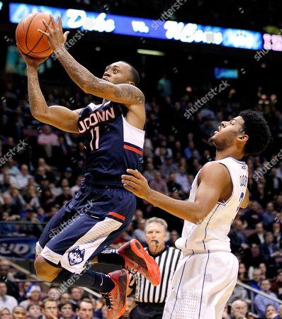 Editorial photo of UConn Duke Basketball, East Rutherford, USA - 18 Dec 2014