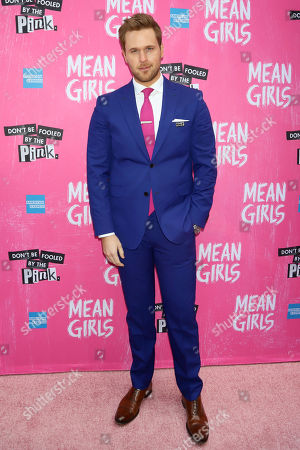 "Dan Amboyer attends the ""Mean Girls"" opening night on Broadway at the August Wilson Theatre, in New York"