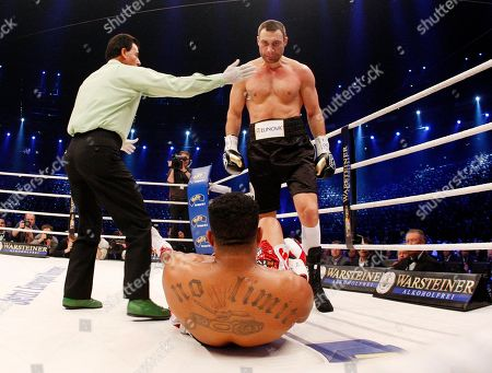 Editorial picture of Boxing Klitschko Solis, Cologne, Germany - 19 Mar 2011