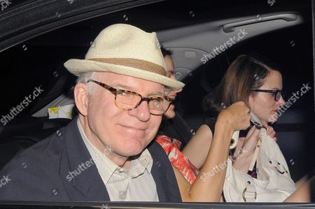 Steve Martin and wife Anne Stringfield