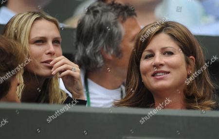 Mrs Haas and Mirka Vavrinec
