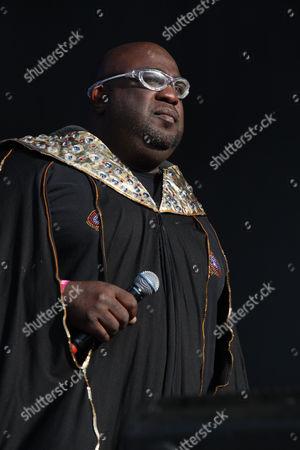 Stock Photo of Afrika Bambaataa
