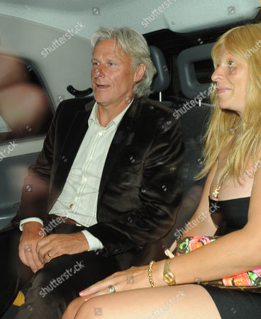 Bjorn Borg leaves the Ivy restaurant with wife Patricia Ostfeldt