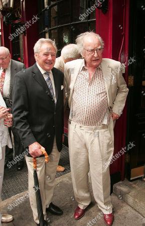 Trevor Bannister and Frank Thornton