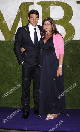 Roger Federer and wife Mirka Vavrinec