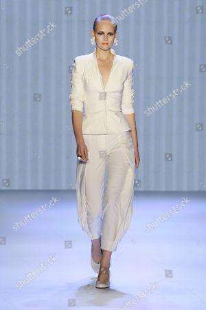 Editorial image of Kai Kuhne show, Spring / Summer 2010, Mercedes Benz Fashion Week, Berlin, Germany - 04 Jul 2009