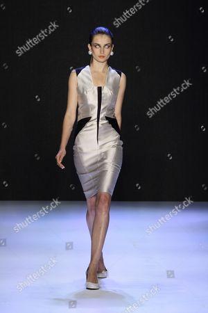 Editorial photo of Kai Kuhne show, Spring / Summer 2010, Mercedes Benz Fashion Week, Berlin, Germany - 04 Jul 2009