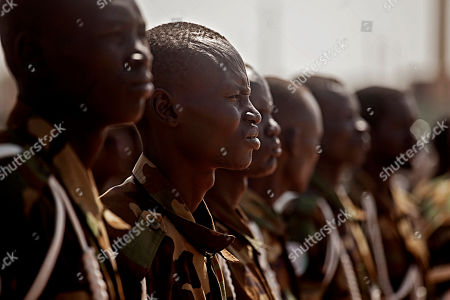 Southern Sudanese soldiers await the arrival of Malawi President Bingu wa Mutharika at the airport in the southern Sudanese capital of Juba on Wed. . Mutharika is the current chair of the African Union, a body that has been deeply engaged with southern Sudan up to and through its recent referendum on independence. Mutharika is the first head of state to visit southern Sudan since the referendum concluded on January 15, 2011. Preliminary results indicate that southerners voted heavily for independence