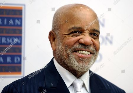 Berry Gordy arrives arrives to a photo call before the Marian Anderson Award Gala at the Kimmel Center for the Performing Arts, in Philadelphia. The legendary singer Aretha Franklin and Motown founder Berry will be honored at the 2014 BET Honors. The network announced, that rapper-actor Ice Cube, American Express CEO Ken Chenault and photographer and video artist Carrie Mae Weems will also receive tributes at the event