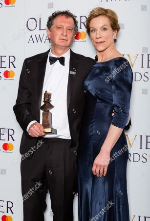 Editorial picture of The Olivier Awards, Press Room Royal Albert Hall, London, UK - 08 Apr 2018