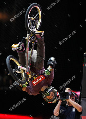 Jamie Bestwick competes in the BMX Freestyle Vert Final during the X Games in Los Angeles, . Bestwick won the competition