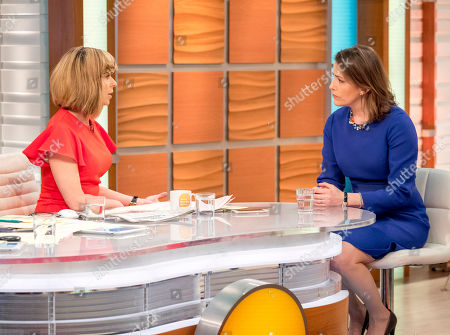 Kate Garraway and Victoria Atkins