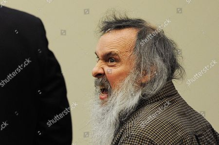 Stock Picture of Charles Severance, right, talks to defense attorney, Joe King, left, during his trial in Fairfax County Circuit Court, in Fairfax, Va. Severance, a Virginia man accused of killing three Alexandria residents over the span of a decade wanted revenge against what he perceived as the city's elite after losing a child custody case, prosecutors said Thursday