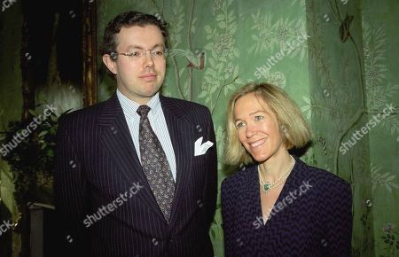Eva Rausing, right, and her husband Hans Kristian Rausing at Winfield House, London, the residence of the US ambassador to the UK attending the Glamour America Fashion Show and lunch. Hans Kristian Rausing has pleaded guilty at London's Isleworth Crown Court, to preventing the proper burial of his wealthy wife Eva, whose decomposing body lay in their luxury home for two months before it was discovered