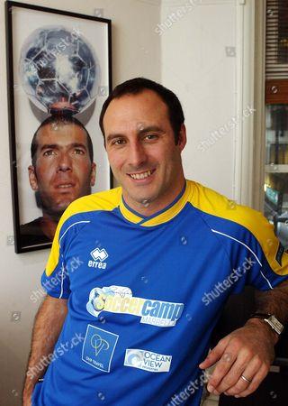 Ramon Vega. Ex Footballer Ramon Vega At His Offices In Dover Street London.