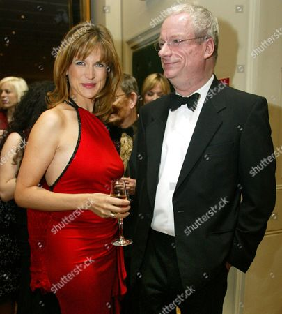 Stock Picture of Katie Derham And Former Labour Culture Minister Chris Smith (now Baron Smith Of Finsbury) Pictured At The Evening Standard British Film Awards 2005 Held The Savoy Hotel The Strand London; Derham Hosted The Ceremony And Smith Presented The Award For Best Screenplay. Lord Smith