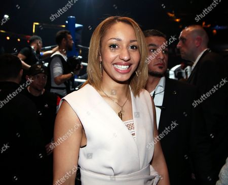 Tony Yoka's wife, French boxer Estelle Mossely