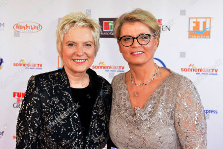 .... ..Birgit Lechtermann, links and Andrea Spatzek, rechts