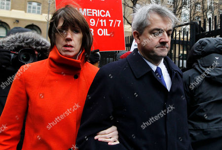 Chris Huhne, Carina Trimingham. Britain's Former Energy Secretary Chris Huhne, right, and his partner Carina Trimingham arrive for his sentencing hearing on perverting the course of justice, at Southwark Crown Court in London, . Huhne's last-minute guilty plea last month was a surprise - he had protested his innocence for months - and shattered his once promising political career. Huhne, 58, resigned from Parliament the same day he pleaded guilty