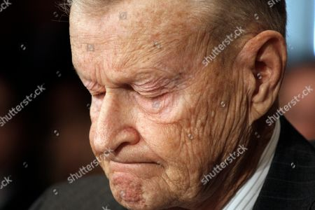 Zbigniew Brzezinski. Former National Security Adviser Zbigniew Brezezinski testifies on Capitol Hill in Washington, before the Senate Foreign Relations Committee hearing on U.S. strategy in Iran