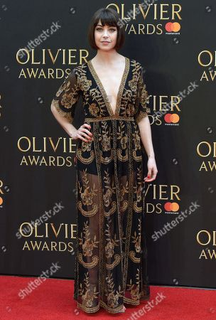Editorial image of The Olivier Awards, Arrivals, Royal Albert Hall, London, UK - 08 Apr 2018