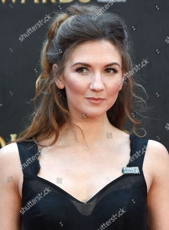 Editorial picture of The Olivier Awards, Arrivals, Royal Albert Hall, London, UK - 08 Apr 2018