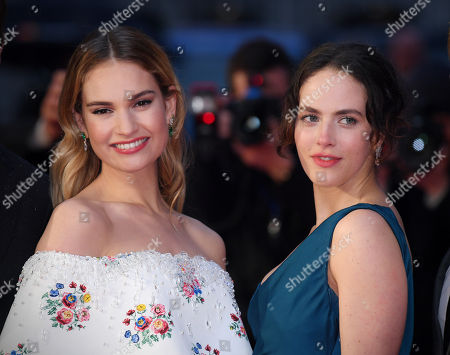 Lily James and Jessica Brown-Findlay