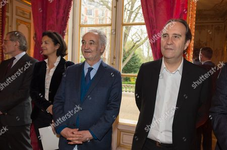 Gerard Mestrallet, Isabelle Giordano, Jacques Attali and Xavier Niel.