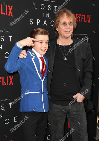 Bill Mumy and Maxwell Jenkins