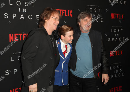 Bill Mumy, Maxwell Jenkins and Mark Hamill