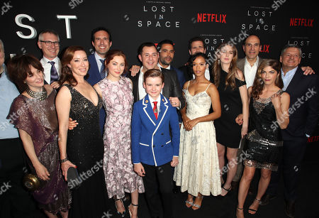 Editorial image of 'Lost In Space' series premiere, Arrivals, Los Angeles, USA - 09 Apr 2018
