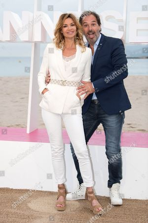 Stock Image of Ingrid Chauvin and Thierry Peythieu