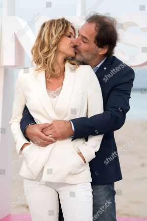 Editorial image of 'Demain nous appartient' TV photocall, Cannes International Series Festival, France - 09 Apr 2018