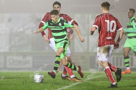 ccb6e92941e94b Stock Picture of Forest Green Rovers Olly Mehew(29) skips through the  Bristol City