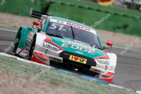 09.04.2018, Hockenheimring, Hockenheim, Testfahrten DTM 2018, Hockenheimring   Nico Mueller (CH#51) Audi Sport Team Abt Sportsline, Playboy Audi RS 5 DTM