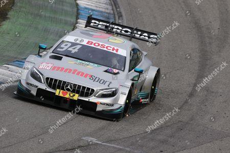 09.04.2018, Hockenheimring, Hockenheim, Testfahrten DTM 2018, Hockenheimring   Pascal Wehrlein (GER#94) Mercedes-AMG Mogoalsport Mercedes