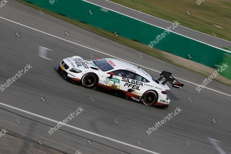 09.04.2018, Hockenheimring, Hockenheim, Testfahrten DTM 2018, Hockenheimring   Paul Di Resta (GBR#3) Mercedes-AMG Mogoalsport SILBERPFEIL Energy, Mercedes-AMG C 63 DTM