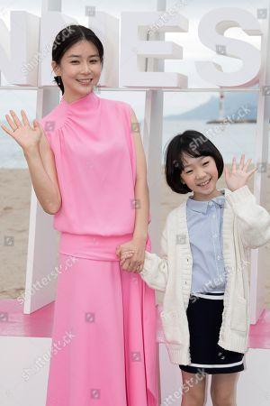 Lee Bo-young and Heo Yool