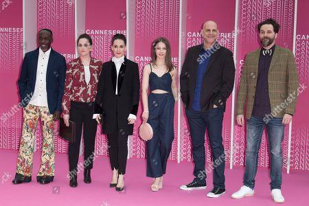 Official Competition Jury Members Michael K Williams, Audrey Fouche, Melisa Sozen, Paula Beer, Harlan Coben and Cristobal Tapia De Veer