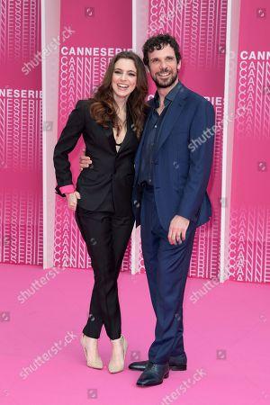 Francesco Montanari and Miriam Dalmazio from the series 'Cacciatore'