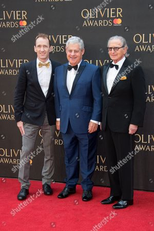 Cameron Mackintosh, Jeffrey Seller and Sander Jacobs