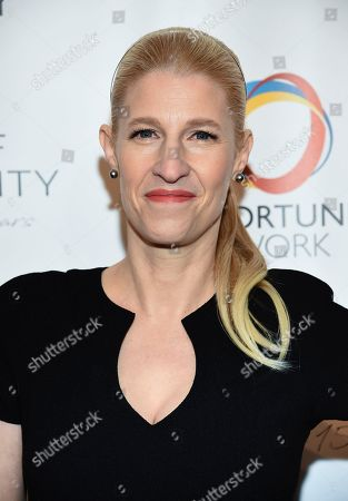 Jessica Pliska attends The Opportunity Network's 11th Annual Night of Opportunity Gala at Cipriani Wall Street, in New York