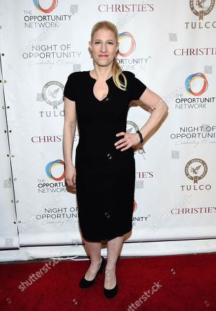 Stock Image of Jessica Pliska attends The Opportunity Network's 11th Annual Night of Opportunity Gala at Cipriani Wall Street, in New York